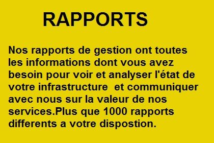Nos rapports detaillee