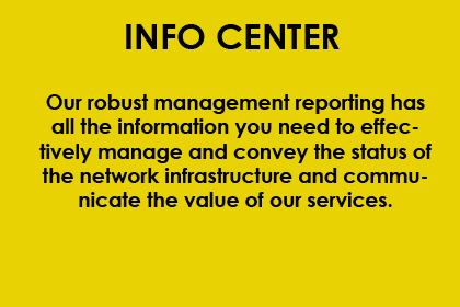 INFO CENTER YELLOW