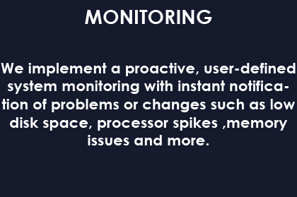 MONITORING BLUE